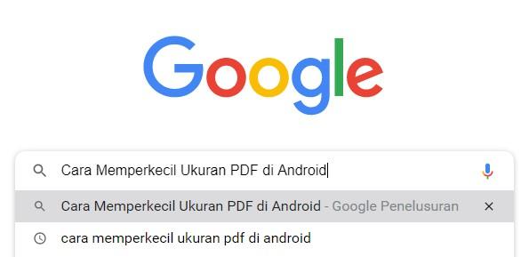 Cara Memperkecil Ukuran PDF Online