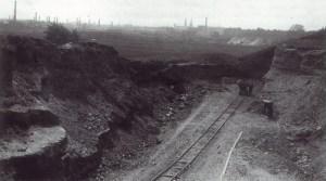 Belvédère kleigroeve ±1925