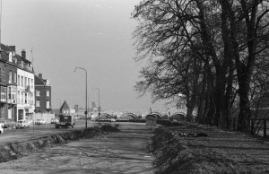 Het Bat 1968-69 - aanleg Maasboulevard-2