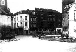 Kleine Stokstraat 1960 - hoek M.Smedenstraat 31 aug