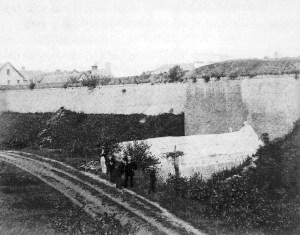 Lindenkruispoort veldzijde 1874
