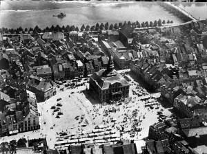 Markt 1935 luchtopname