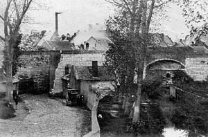 St. Pieterspoort buitenzijde ±1867