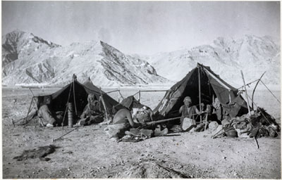 Ragyapa camp outside Lhasa