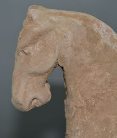 Chinese Tang horse from grave