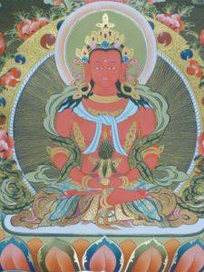 Tibetan Buddhism Iconographic Amitayus Tse Pame