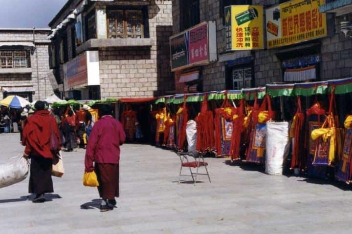 Visit Barkhor Street