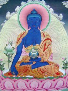 Bhaisajyaguru buddha icon
