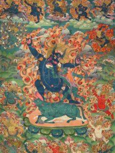 Tibetan Buddhism Iconographic Dharmaraja