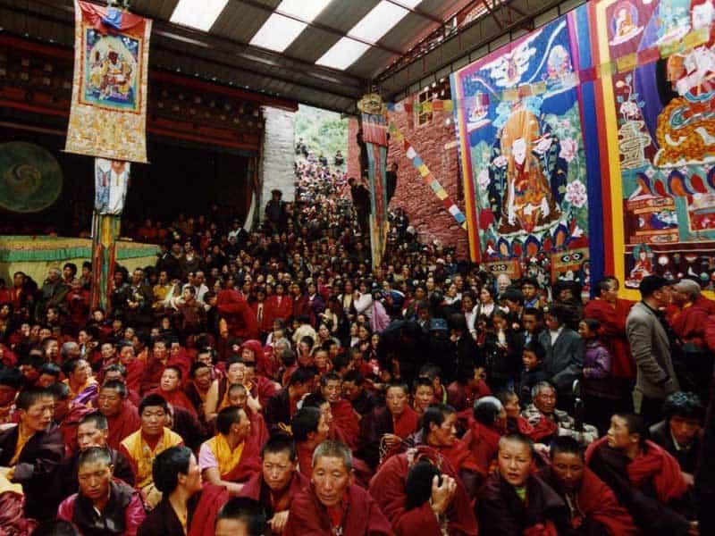 monk festival