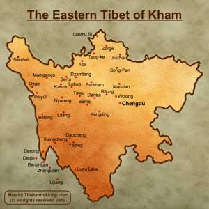 kham map