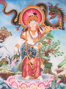 Tibetan Buddhism Iconographic Kharsa Pani Padmapani