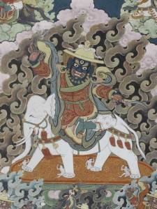 Tibetan Buddhism Iconographic King-of-Mind