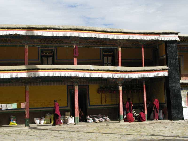 monk dormitory