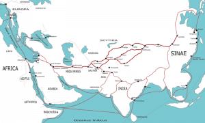 Tea horse trade route