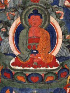 Vipashyin buddha icon