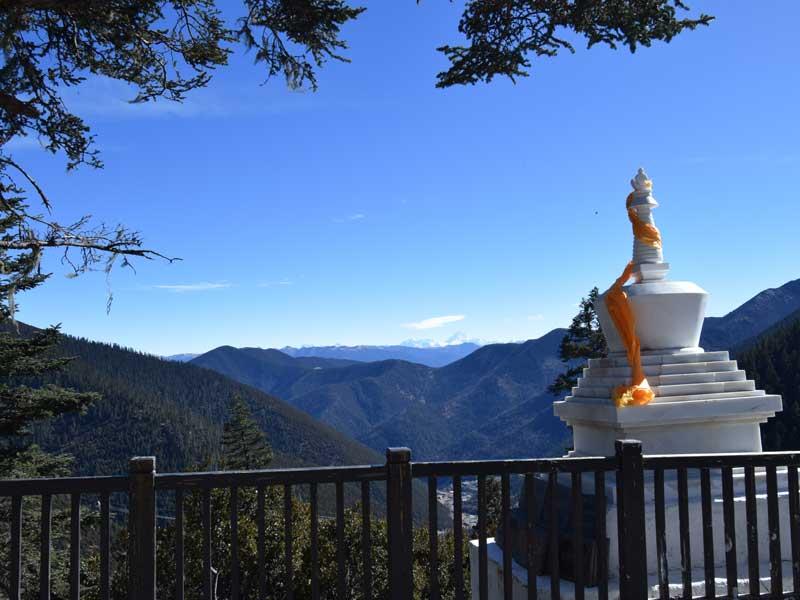 Yajiang Gongga mountain view