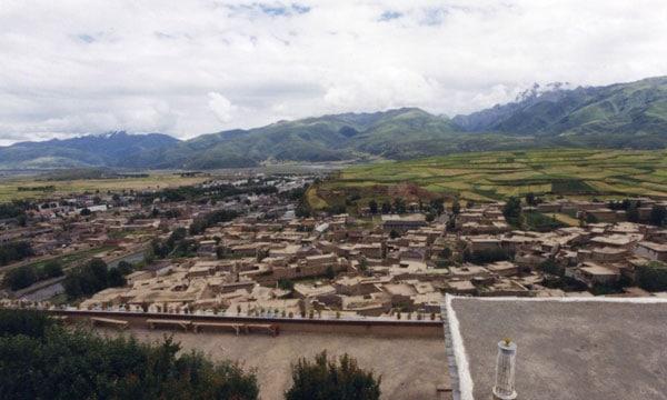 Garze town