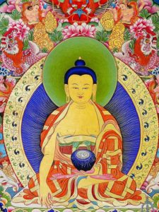 Tibetan Buddhism Iconographicsakyamuni buddha