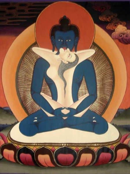 Tibetan Buddhism Iconographic Samantabhadra