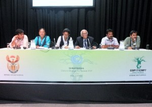 COP17 conference