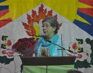 Tibetan Women's Association intern Vicki Robinson