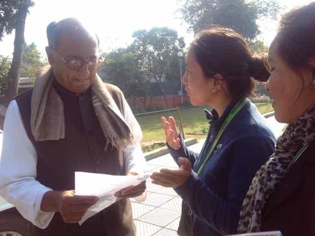 With Mr. Dig Vijay Singh