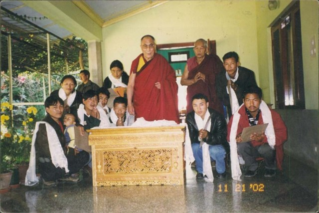 HHDalaiLama and Sampa