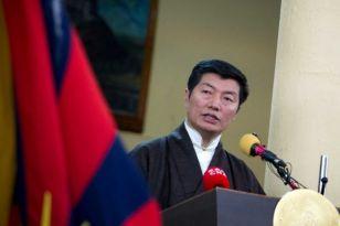 10 March 2013 - Lobsang Sangay, the prime minister daramasala - India