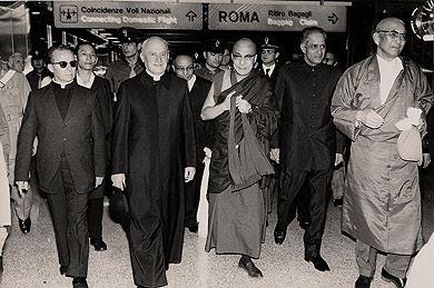 دالای لاما - رم - 1975