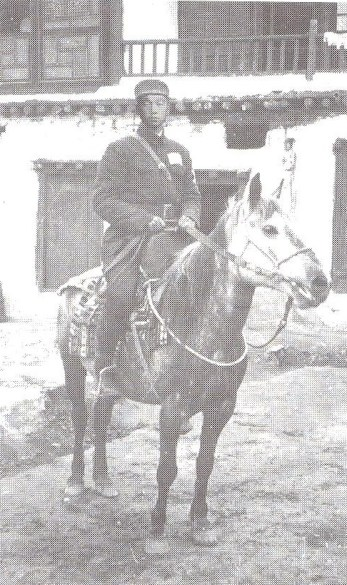 Jiang Ho Ting, alias Gya Lobsang Tashi, a colonel in artillery regiment of the PLA in Lhasa
