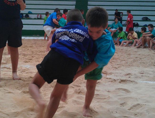 Las Escuelas de Lucha Canaria del Cabildo inician la temporada