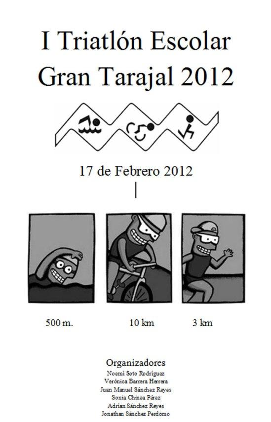 I Triatlón Escolar Gran Tarajal 2012