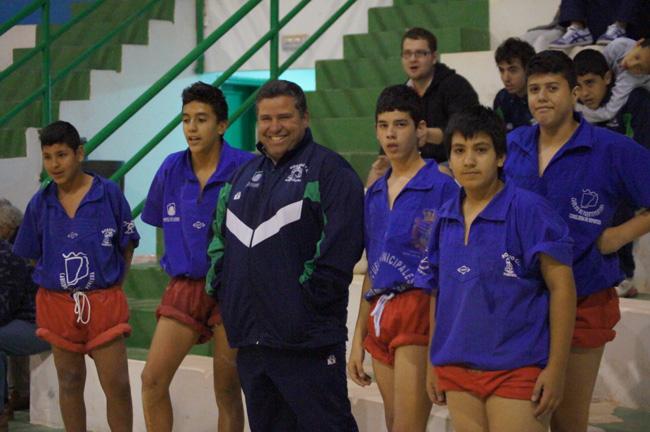 El Rosario se impuso en dos categorías de Base en su visita al U. Tetir