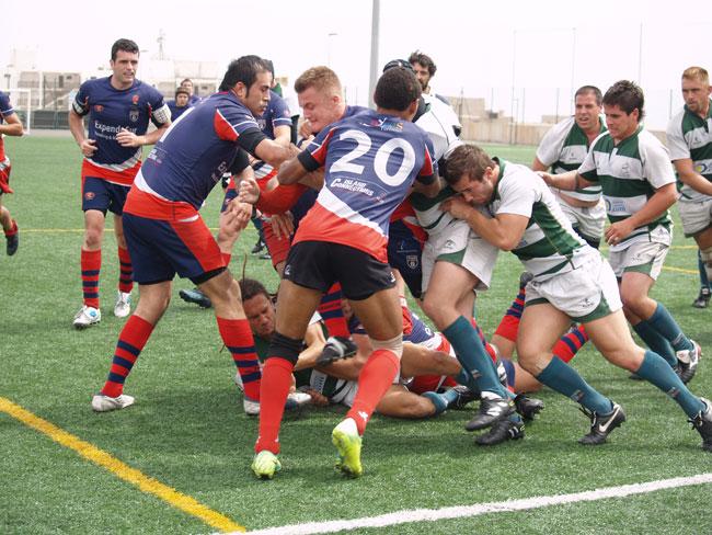 Gran jornada de rugby en el Francisco Melián