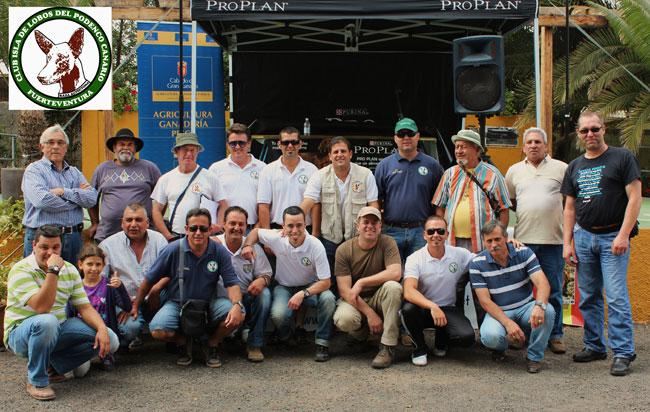 El Club Isla de Lobos del Podenco Canario participó en la Monográfica Nacional