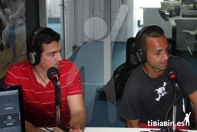 Toni Rojas y David Gil estuvieron en tibiabin.fm