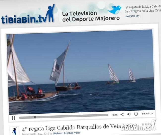 Vídeo de la 4º regata de la Liga Cabildo de Fuerteventura en tibiabin.tv