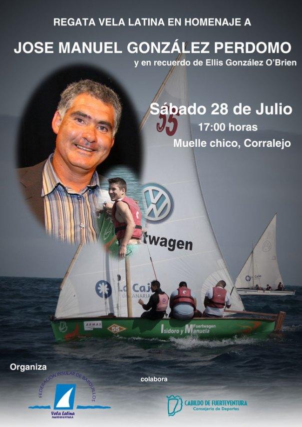 Regata de homaneje a José Manuel González Perdomo