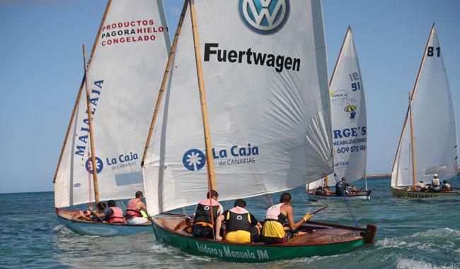 Alta participación en la regata homenaje a José Manuel González Perdomo