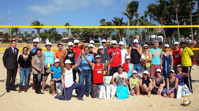 Caleta de Fuste se convertirá en centro de referencia internacional para la práctica y entrenamiento del voley playa