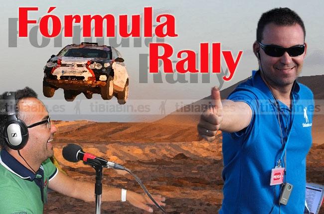 Cita obligada este miércoles en Fórmula Rally.