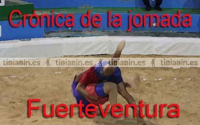Crónica de la 6ª jornada Lucha Canaria (Fuerteventura)