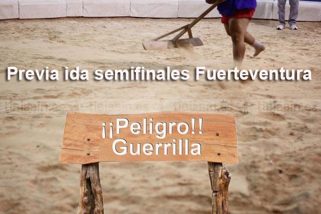 """Lucha de Guerrillas"" (Previa ida semifinales lucha canaria de Fuerteventura)"