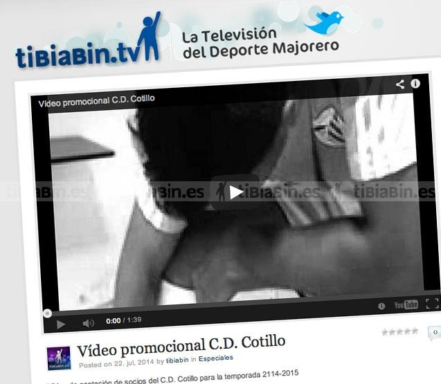 Vídeo captación de socios C.D. Cotillo
