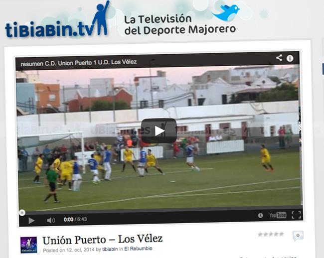 Vídeo resumen C.D. Unión Puerto 1 – U.D. Los Vélez 1