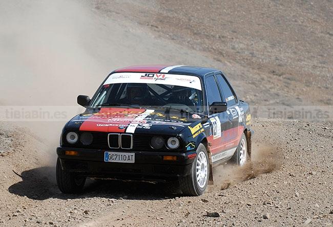 Meritorio fin de temporada para el equipo Jovi Sport, que estuvo a un excelente nivel en el XXV Rallye de La Oliva
