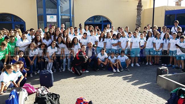 107 deportistas representan a Fuerteventura en los Campeonatos de Canarias Escolares de este fin de semana
