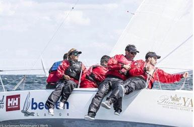 El joven majorero Óliver Herrera, Campeón del Mundo de en clase J-80 de vela