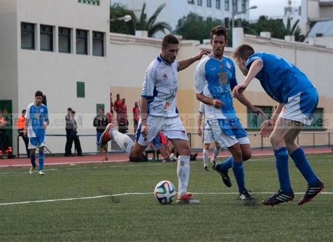 La UD Las Palmas Atlético vencedor del XLVII Torneo de San Ginés